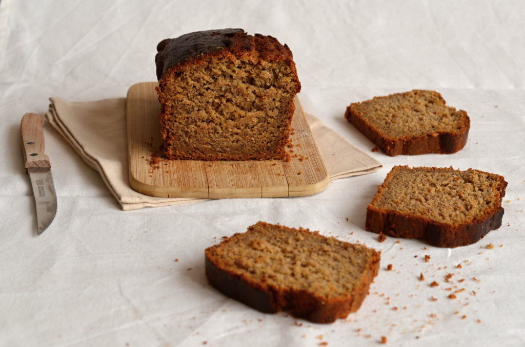Banana & Date Honey Bread