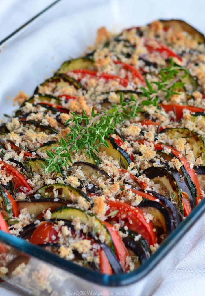 French Tian with Summer Veggies