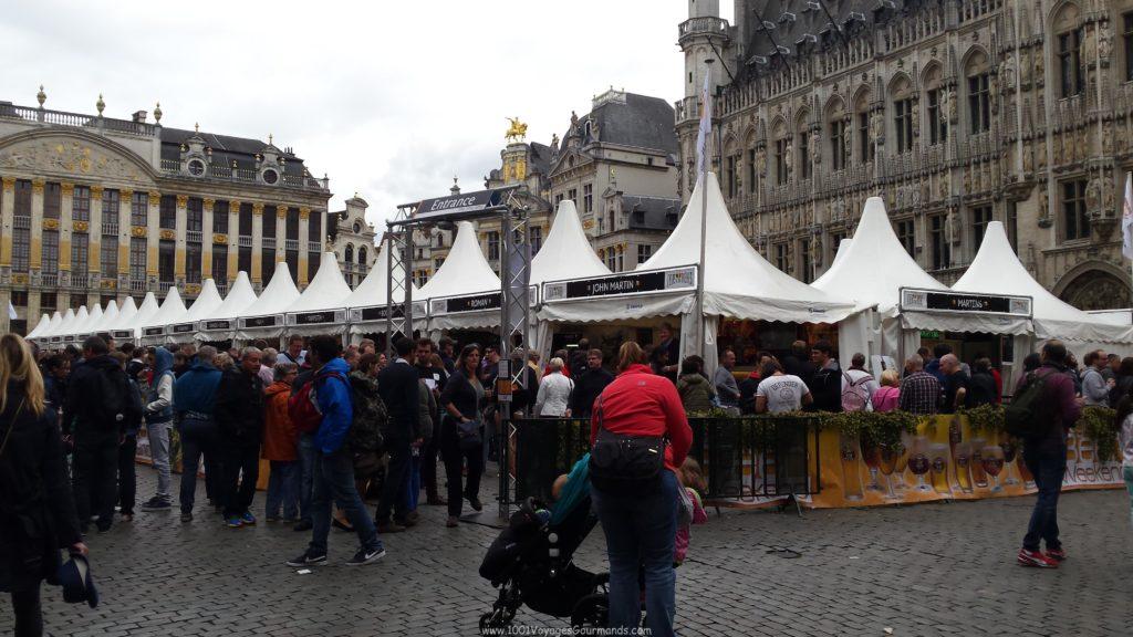Akce je hodně fajn, jelikož se můžete něco přiučit přímo od pivařů, ochutnáte pár belgických piv a strávíte hezké chvíle s přáteli / rodinou. Během víkendu tu v určitých hodinách narazíte i na různá procesí. Navíc se můžete kochat nejkrásnějším náměstím na světě.