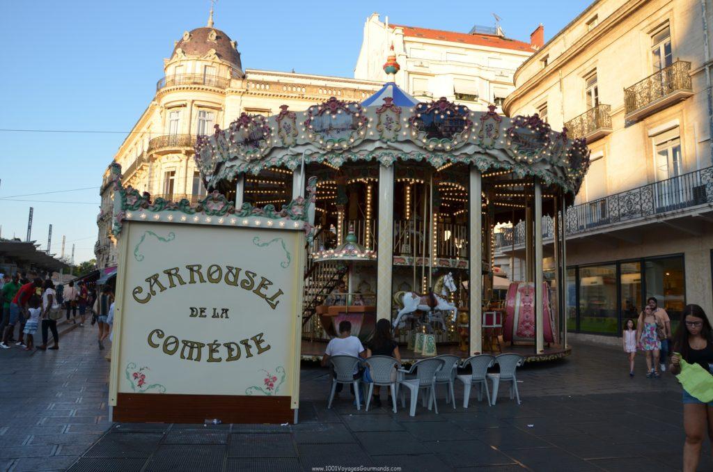 Nebylo by to správné francouzské město, kdyby tu nebyl kolotoč :)