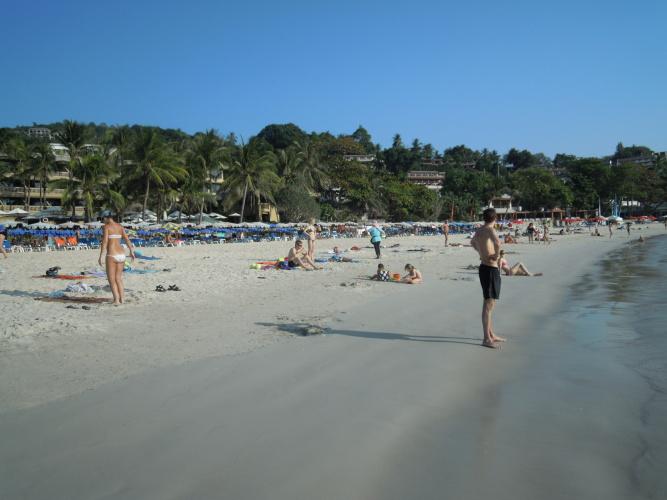 pláž Hat Kata na Phuketu