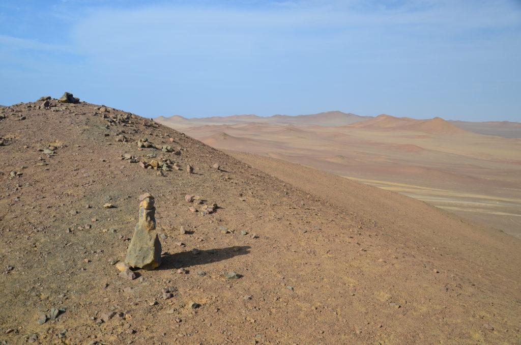 Paracas - pouštní krajina