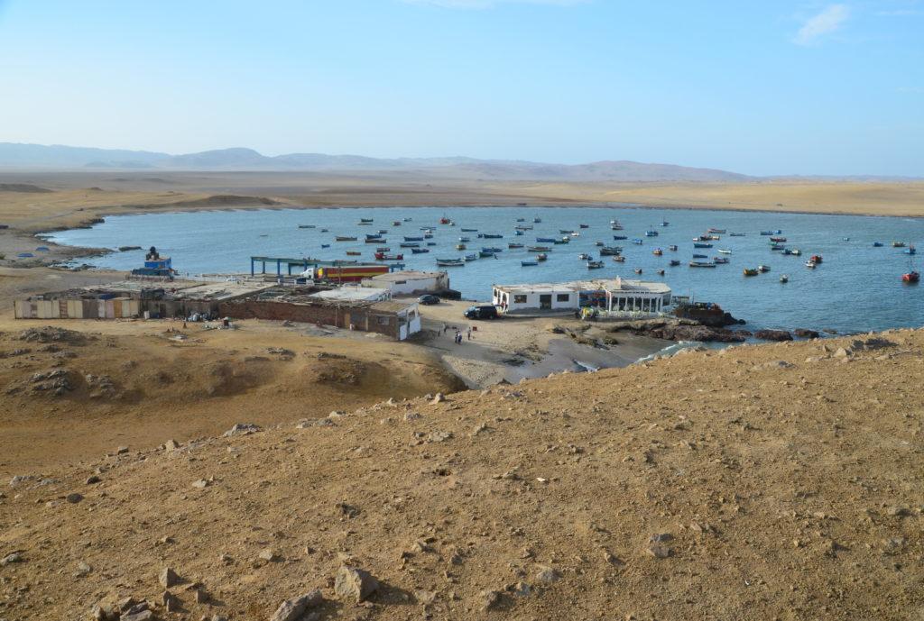 Paracas - rybářská laguna