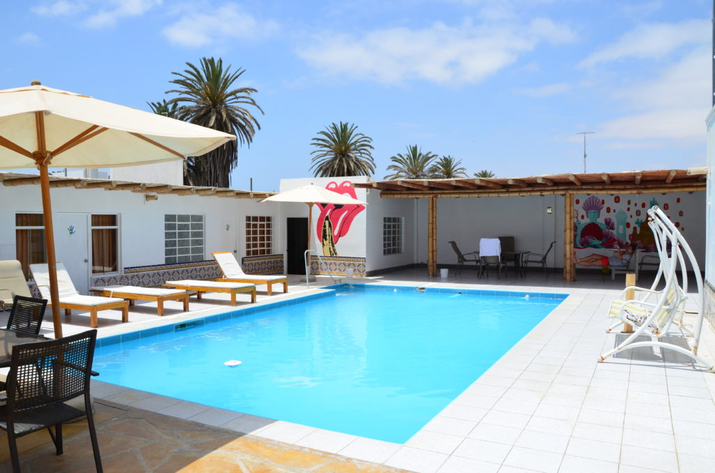 Kokopelli hostal in Paracas