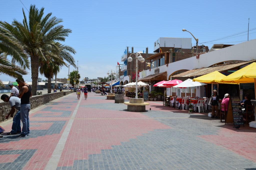 center of Paracas village