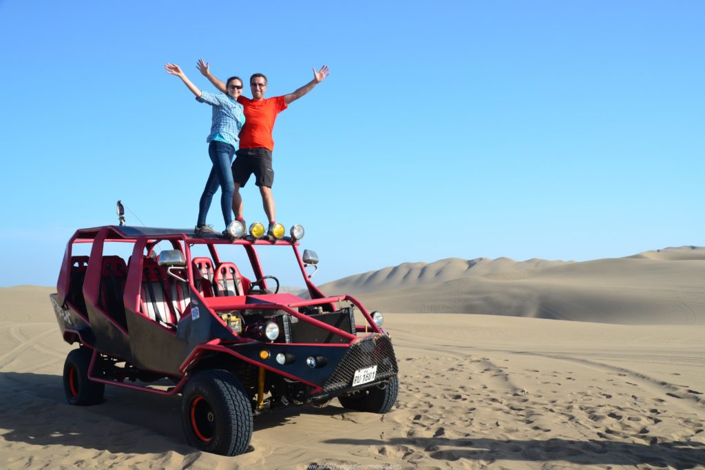 sand buggy in Huacachina