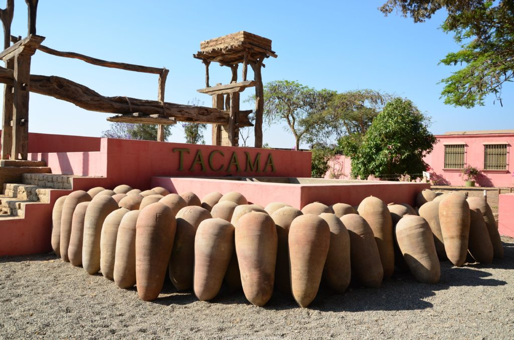vinařství Tacama, Ica, Peru