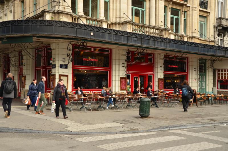 Kam na jídlo v centru Bruselu, pokud chcete ochutnat něco z belgické kuchyně a najíst se za dobrý poměr cena/kvalita tam, kam chodí místní již léta.