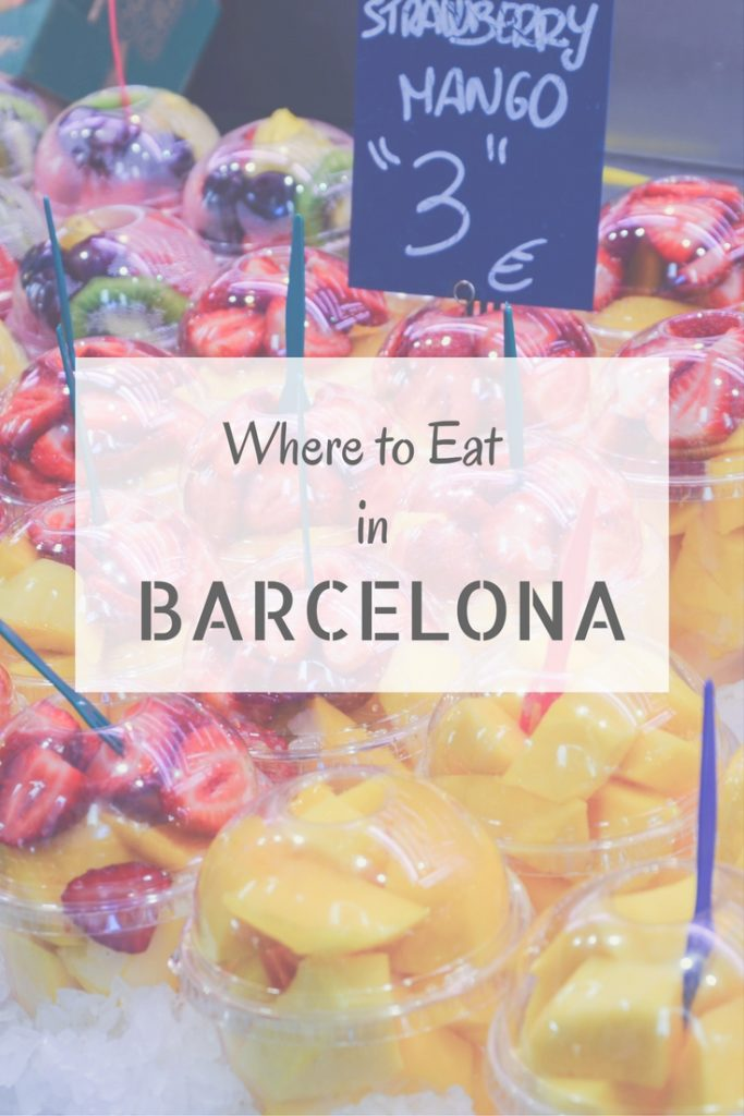Here are some tips on where to eat in Barcelona. Don't forget to check out these places in the city center during your next visit!