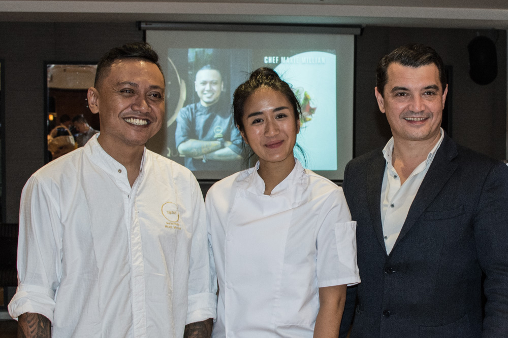 Two young Indonesian chefs came to Europe in order to make you taste some delicious courses from Indonesian cuisine in Callens Café in Brussels in May.
