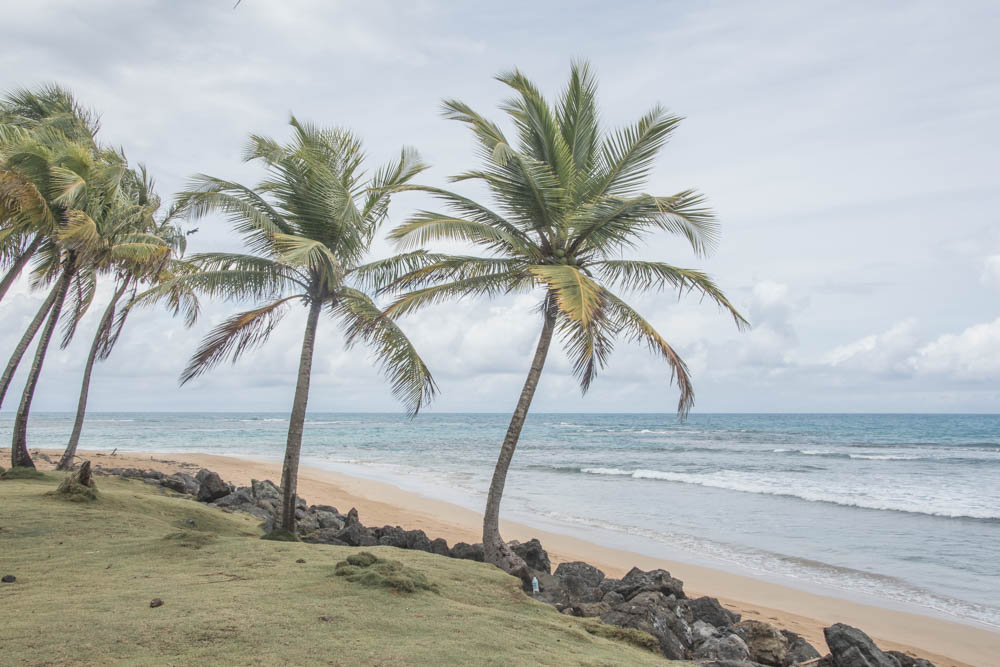 La Pared beach, Luquillo