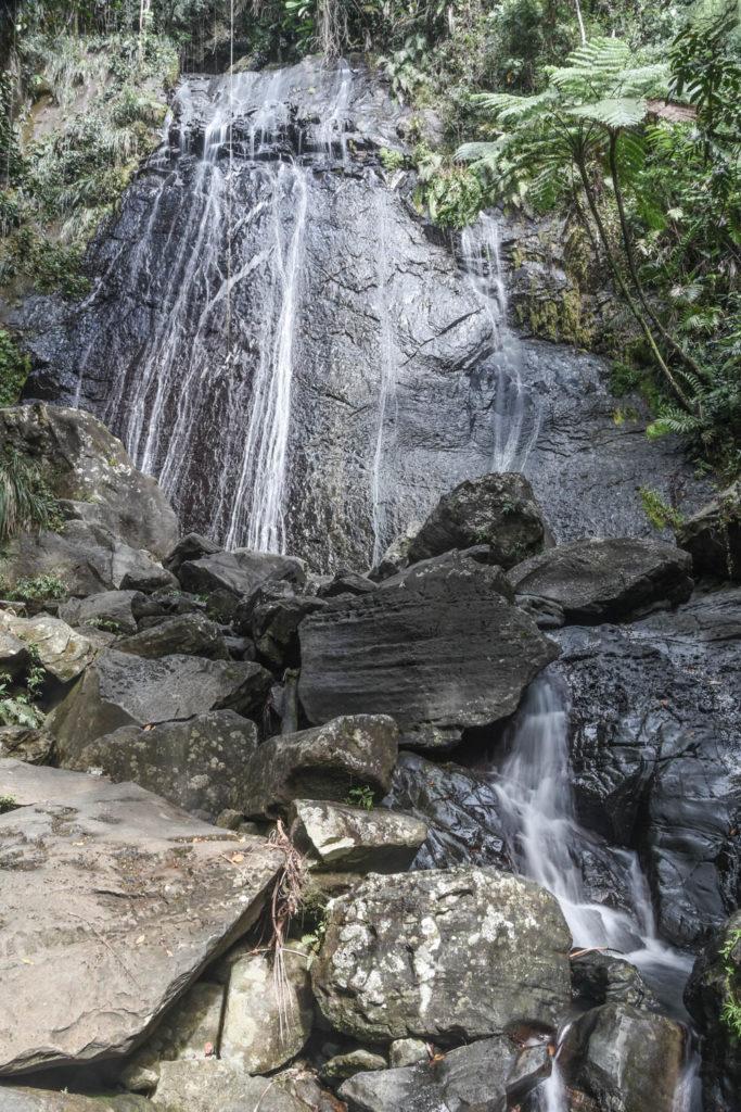 La Coca Falls, El Yunque