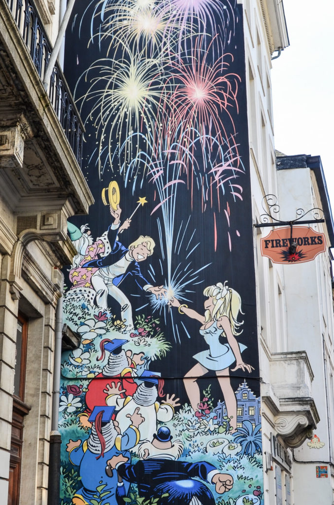 The Brussels Comic Strip Walk is an easy and entertaining way to discover some of the most famous comic strips and their heroes and explore the city center.