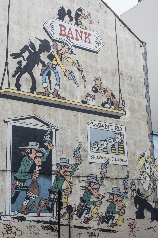 b76091096c Brussels Comic Strip Walk - 1001 Voyages Gourmands