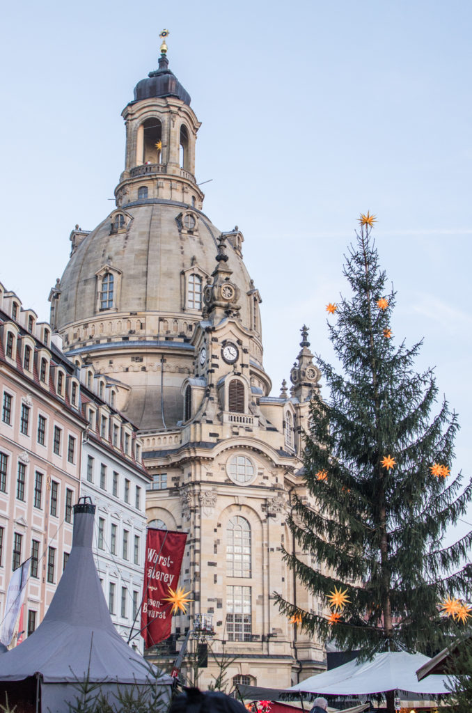 Dresden is a beautiful city and during Christmas, you can find here numerous Christmas markets with nice decorations and good food!