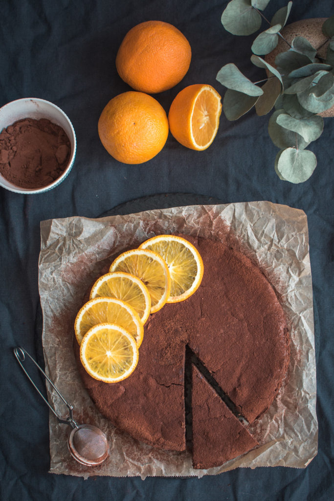 Delicious Chocolate Orange Ricotta Fondant is a lighter version of the classic chocolate dessert where the butter is substituted by Ricotta cheese.