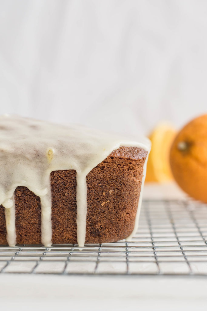 Soft and moist Orange Almond Loaf Cake with greek yoghurt always make people happy, either served for breakfast or with an afternoon tea or coffee!