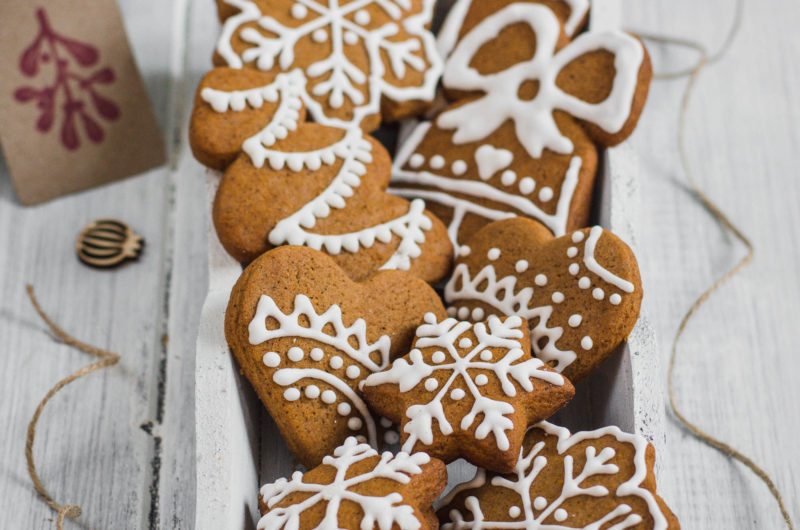 Czech Christmas Gingerbread Cookies